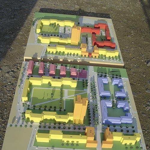 Maquettes d'urbanismes - Photo 7