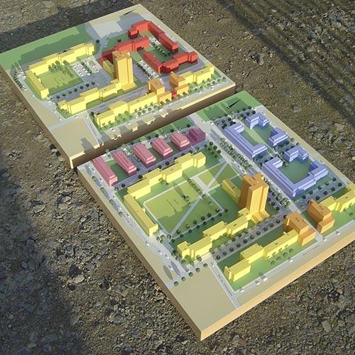 Maquettes d'urbanismes - Photo 6