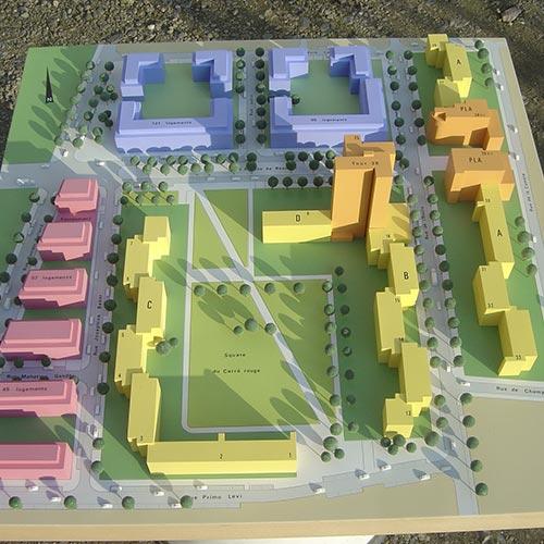 Maquettes d'urbanismes - Photo 5